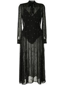 платье с бантом FLEUR DU MAL 1567804752