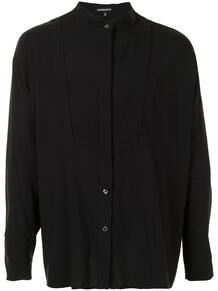 рубашка оверсайз с воротником-стойкой Ann Demeulemeester 160630595248