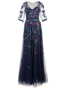платье из тюля с вышивкой MarchesaNotte 1307169950