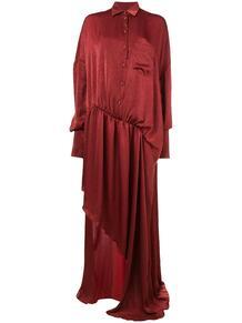 асимметричное платье-рубашка ESTEBAN CORTAZAR 131478085152