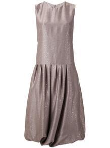платье миди с пайетками и сборками PASKAL 1491663277