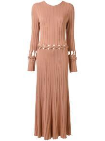 платье с V-образным вырезом на спине DION LEE 148492228883