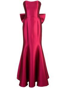 вечернее платье без бретелей MarchesaNotte 136037254952