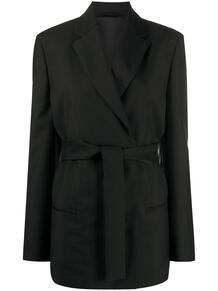 пиджак с поясом ACNE STUDIOS 147538615250