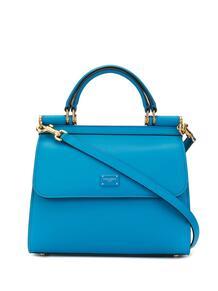 маленькая сумка-тоут Sicily Dolce&Gabbana 14087608636363633263