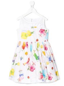 платье из тюля с пайетками Monnalisa 1515035652