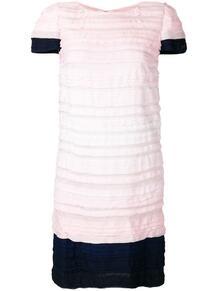 короткое плиссированное платье 2009-го года Chanel Pre-Owned 138171625248