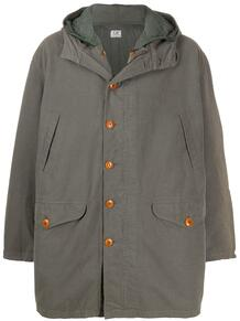 пальто 1990-х годов с капюшоном C.P. Company Pre-Owned 155085605256