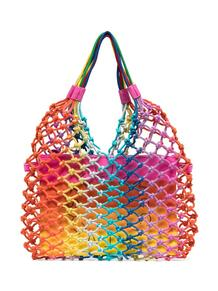 плетеная сумка-тоут STELLA MCCARTNEY KIDS 16251379636363633263