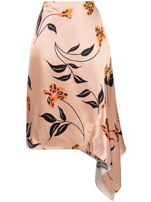 юбка с цветочным принтом Marni 162498555252