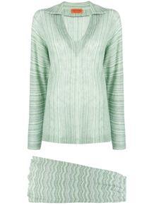 ребристая вязаная юбка Missoni Pre-Owned 131946515252