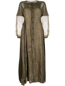 длинное платье с прозрачными вставками PHAÉDO STUDIOS 1508771476