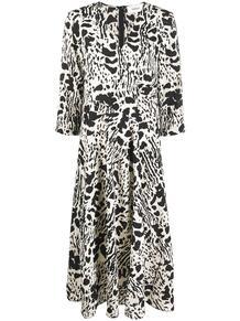 платье Olga с абстрактным принтом Ba&Sh 1568255277