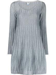 платье в рубчик с эффектом металлик M Missoni 163214865250