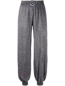 брюки с эластичным поясом и блестками John Richmond 158489655248