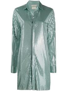 удлиненная рубашка с пайетками Bottega Veneta 146798015250