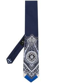 галстук с принтом пейсли Etro 16420317636363633263