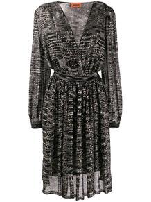 платье с пайетками Missoni 141333395250