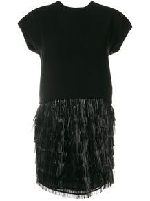 коктейльное платье с бахромой Balenciaga Pre-Owned 125372275154