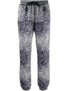 спортивные брюки с анималистичным принтом John Richmond 1584896483
