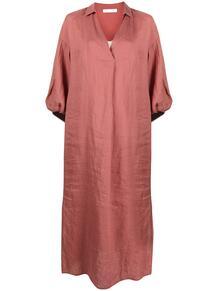 платье-рубашка с V-образным вырезом FABIANA FILIPPI 161096345252