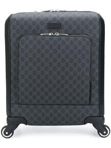 чемодан с узором GG Supreme Gucci 12399571636363633263