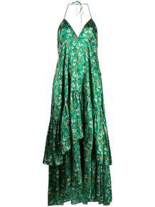 ярусное платье с цветочным принтом L'Autre Chose 164351865248
