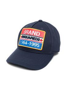 кепка с вышитым логотипом Dsquared2 Kids 16415332737373