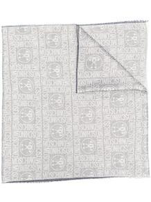 шарф с логотипом Love Moschino 16432992636363633263