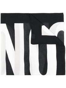 шарф с логотипом Love Moschino 16434333636363633263
