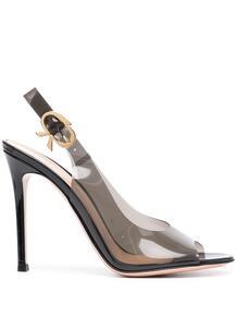 туфли на шпильке с ремешком на пятке Gianvito Rossi 162808875156