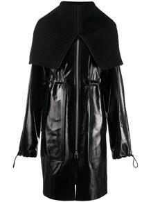 пальто с воротником-воронкой Bottega Veneta 1579315983