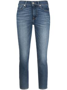 укороченные джинсы скинни 7 for all mankind 163047695057