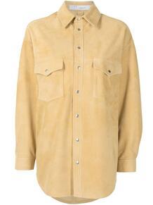 рубашка с приспущенными плечами и длинными рукавами IRO 162753795152