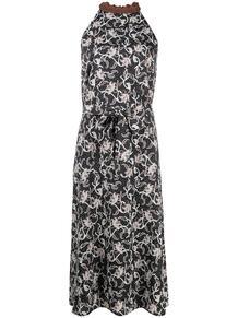 платье асимметричного кроя Pinko 161229305252