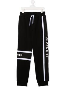 спортивные брюки с логотипом Givenchy Kids 156268134952