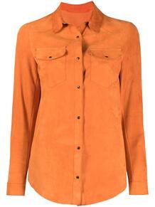 рубашка с карманами SALVATORE SANTORO 163062555250
