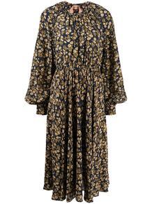 платье Pâquerettes с принтом и рукавами бишоп №21 147478105154