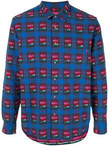 клетчатая рубашка Supreme 1415917683