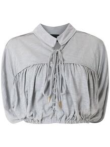 блузка Suleima с завязками Andrea Bogosian 1570459571