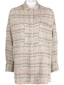 плетеная рубашка оверсайз IRO 164256855154