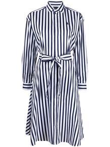 платье-рубашка в полоску Polo Ralph Lauren 1647431654