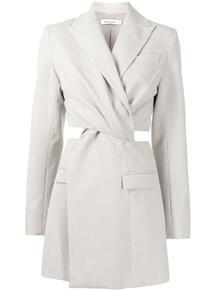 платье-пиджак с вырезами ANNA QUAN 1616369754
