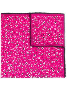 шарф Karl с принтом Lagerfeld 14718706636363633263
