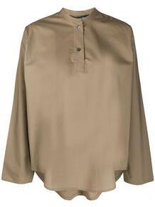 рубашка с воротником-стойкой SOFIE D'HOORE 150215125152