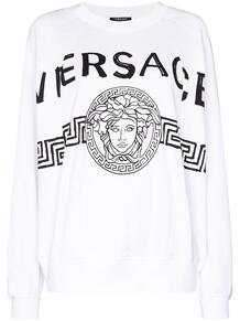 толстовка с принтом Medusa Versace 149453545250