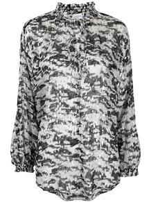 рубашка с драпировкой и принтом IRO 164818005250