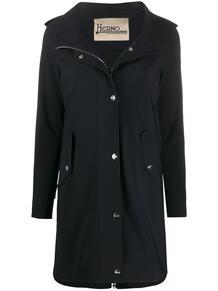 легкое пальто с капюшоном HERNO 151646595252