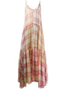платье в клетку Forte Forte 1465010848