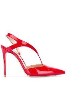 туфли с перекрестными ремешками Gianvito Rossi 1579149651564653